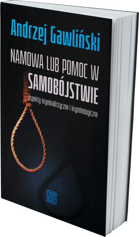 Namowa lub pomoc w samobójstwie - książka