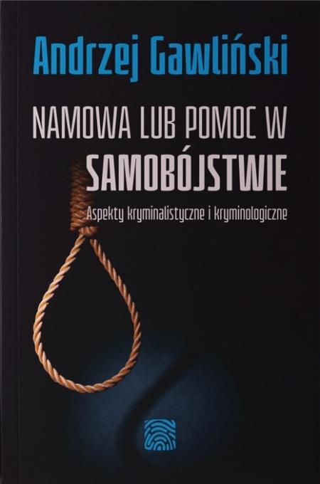 Namowa lub pomoc w samobójstwie - okładka