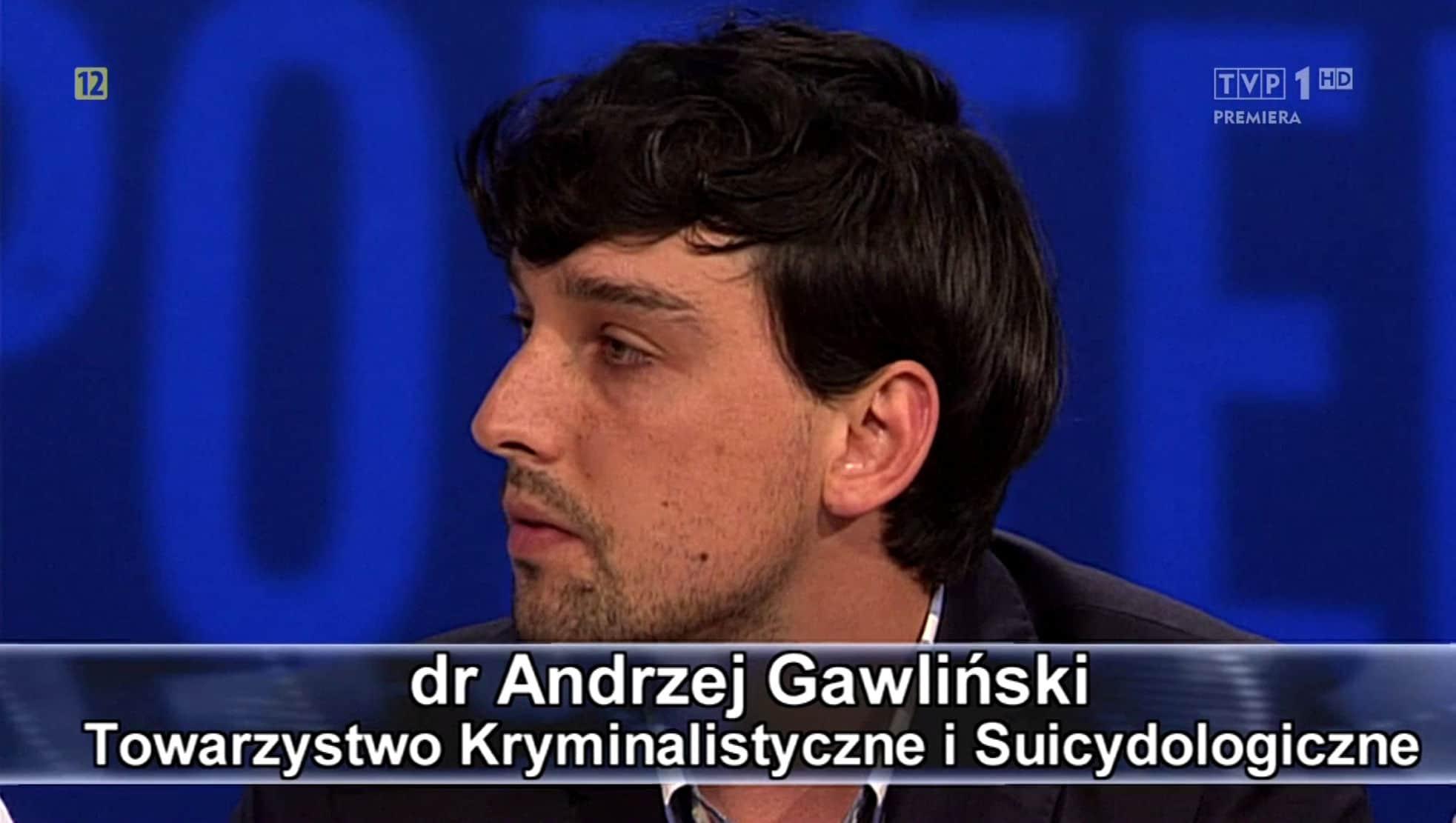 dr Andrzej Gawliński ekspert programu Sprawa dla reportera