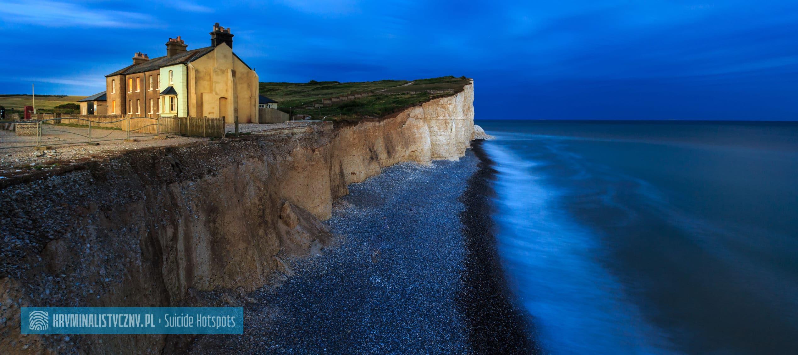 Suicide Hotspots Beachy Head Sussex