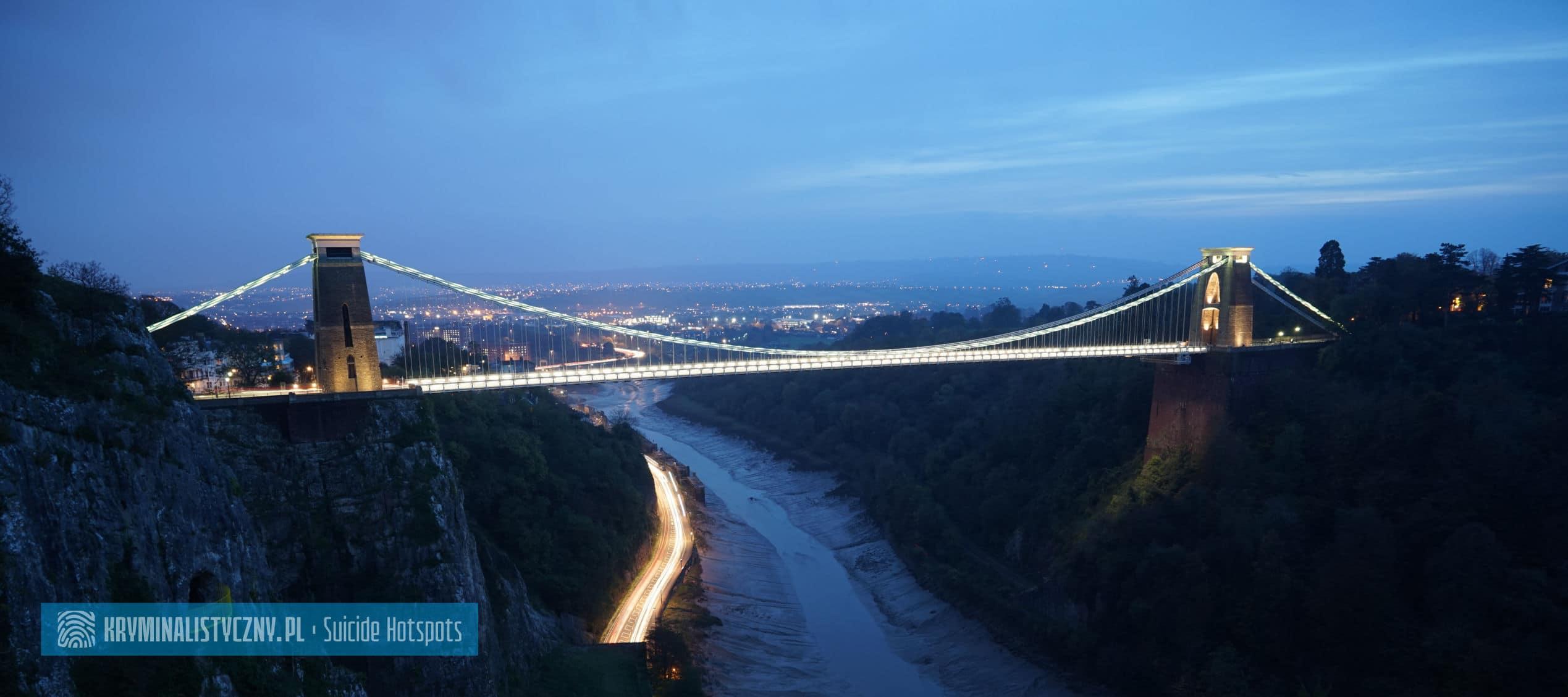 Suicide Hotspots Clifton Suspension Bridge