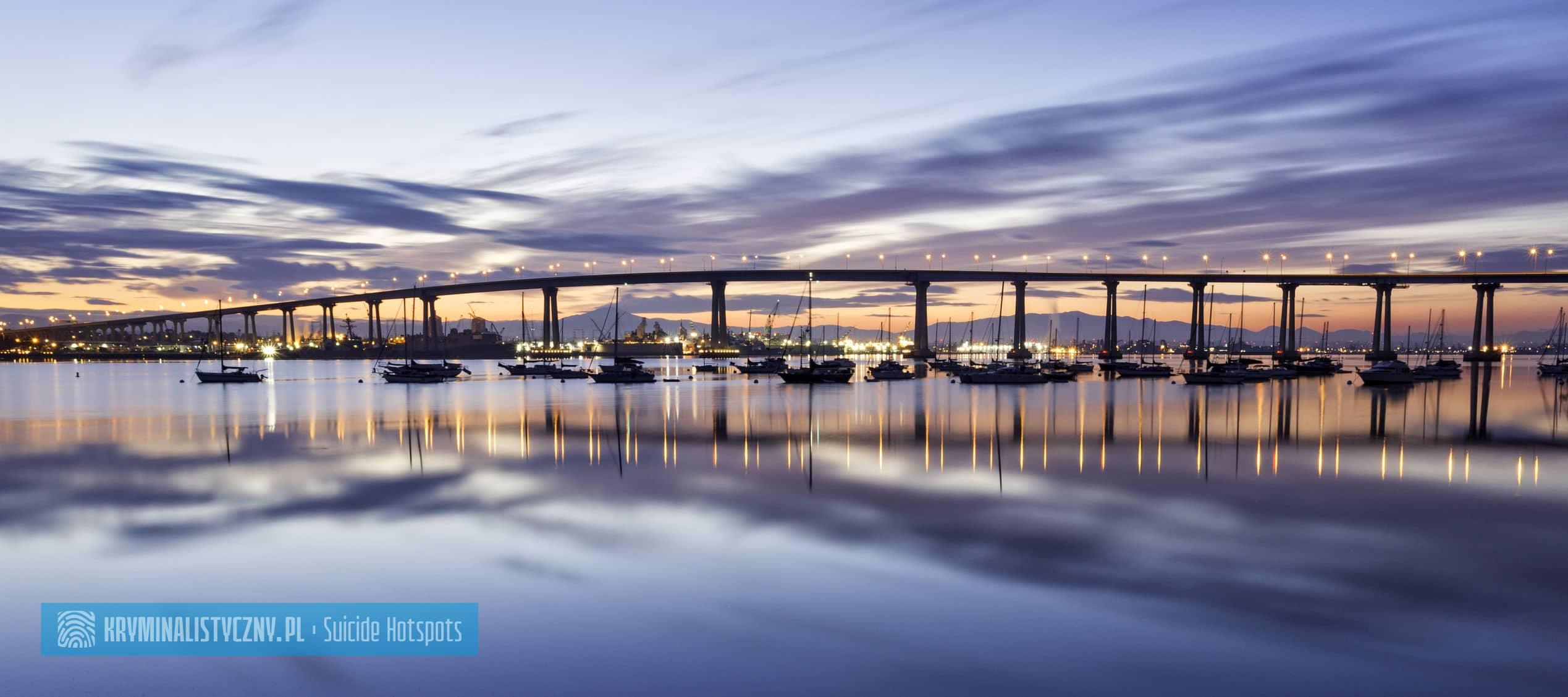 Suicide Hotspots Coronado Bridge