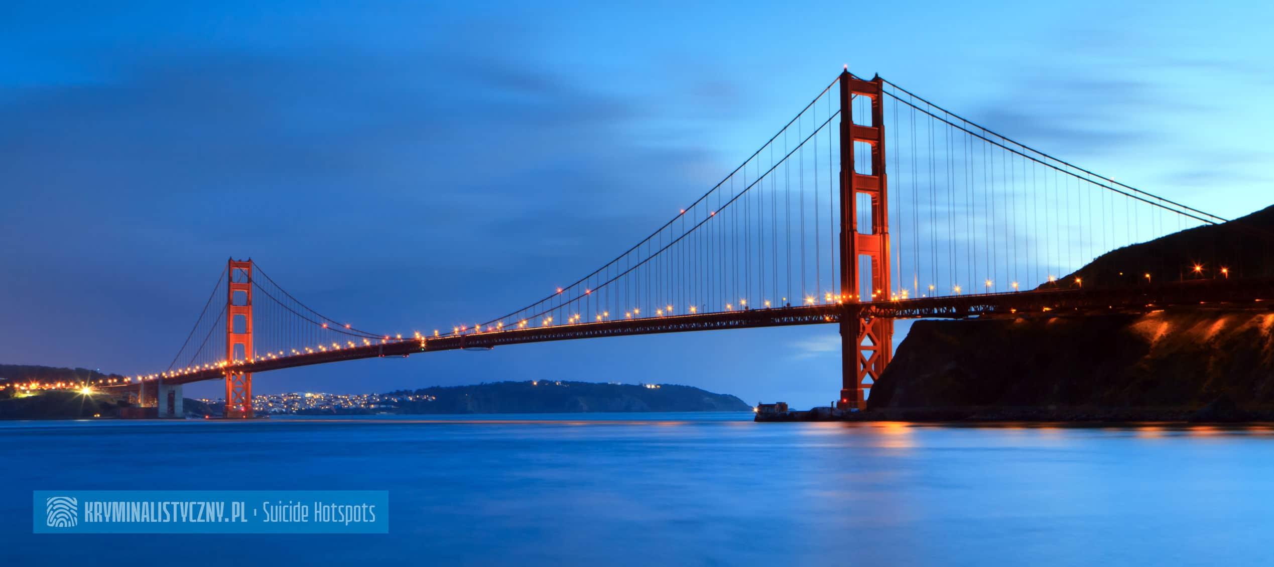 Suicide Hotspots Golden Gate Bridge