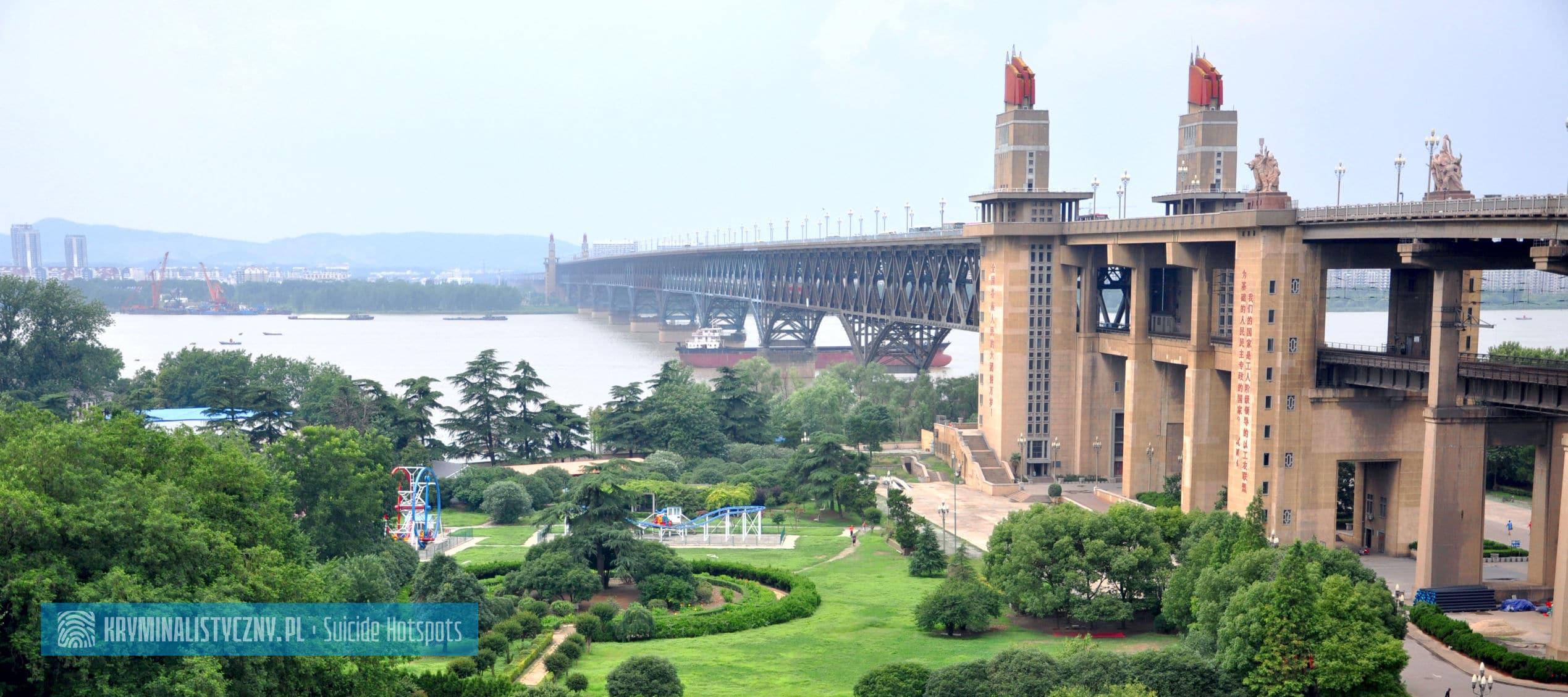 Suicide Hotspots Nanjing Yangtze