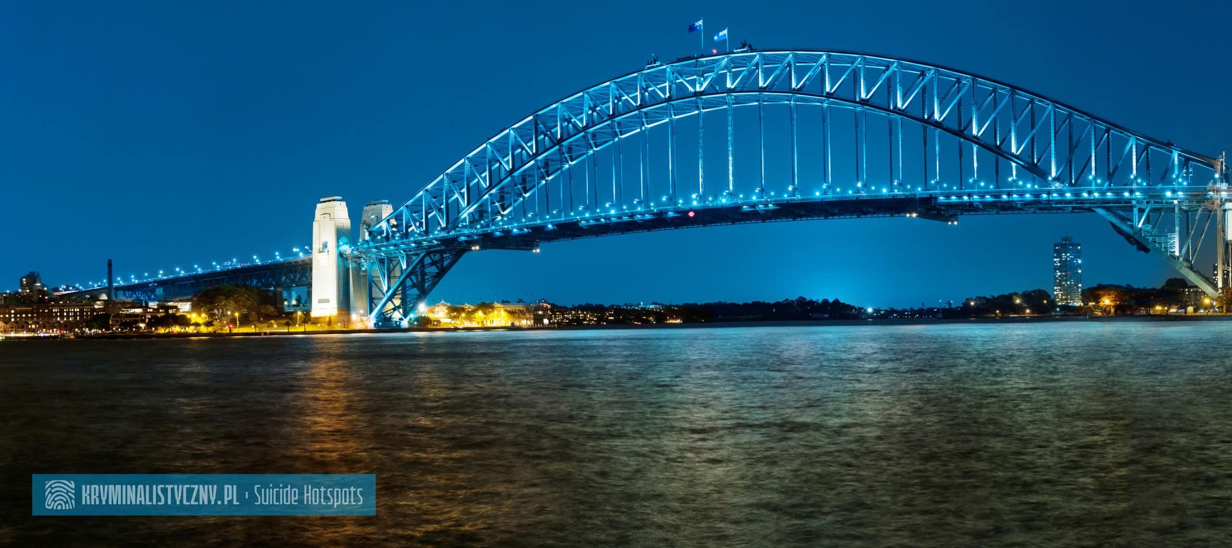 Suicide Hotspots Sydney Harbour Bridge