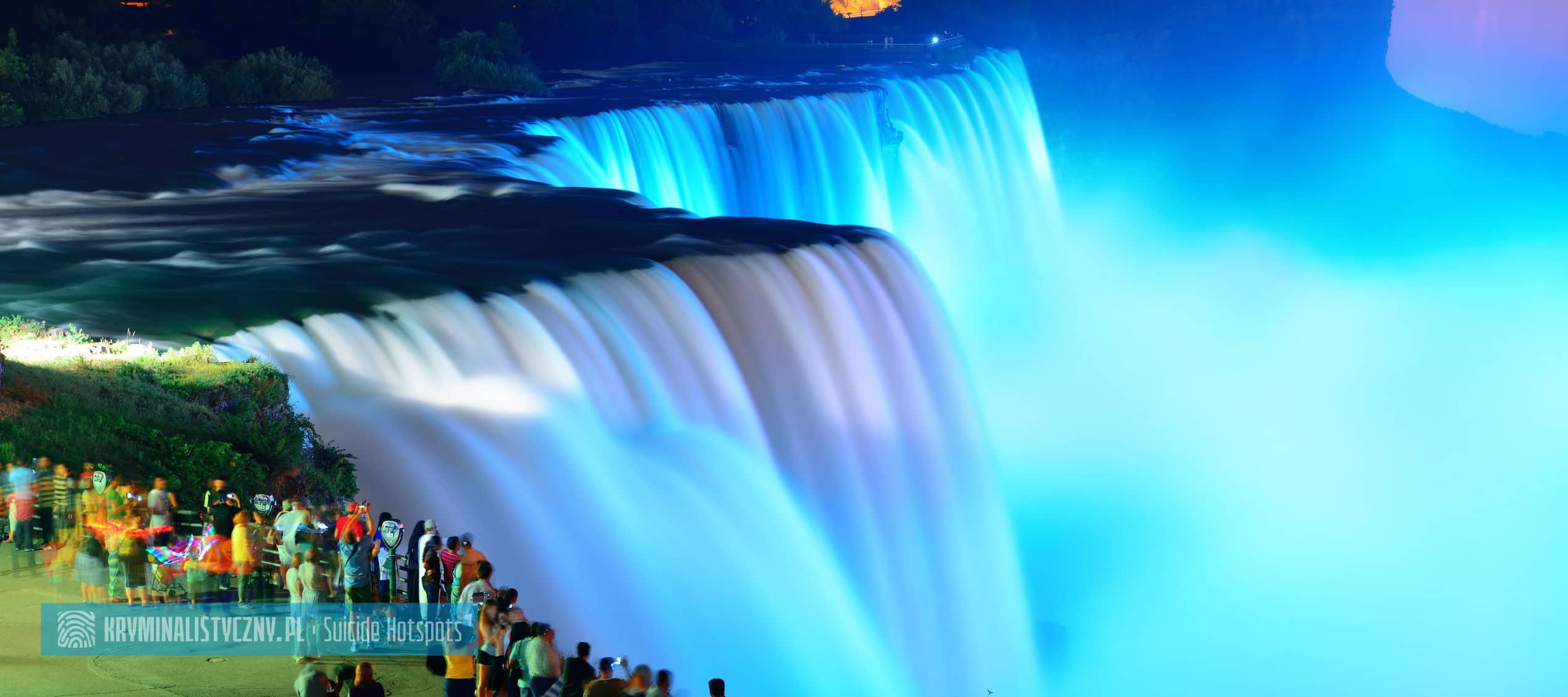 Suicide Hotspots Wodospad Niagara