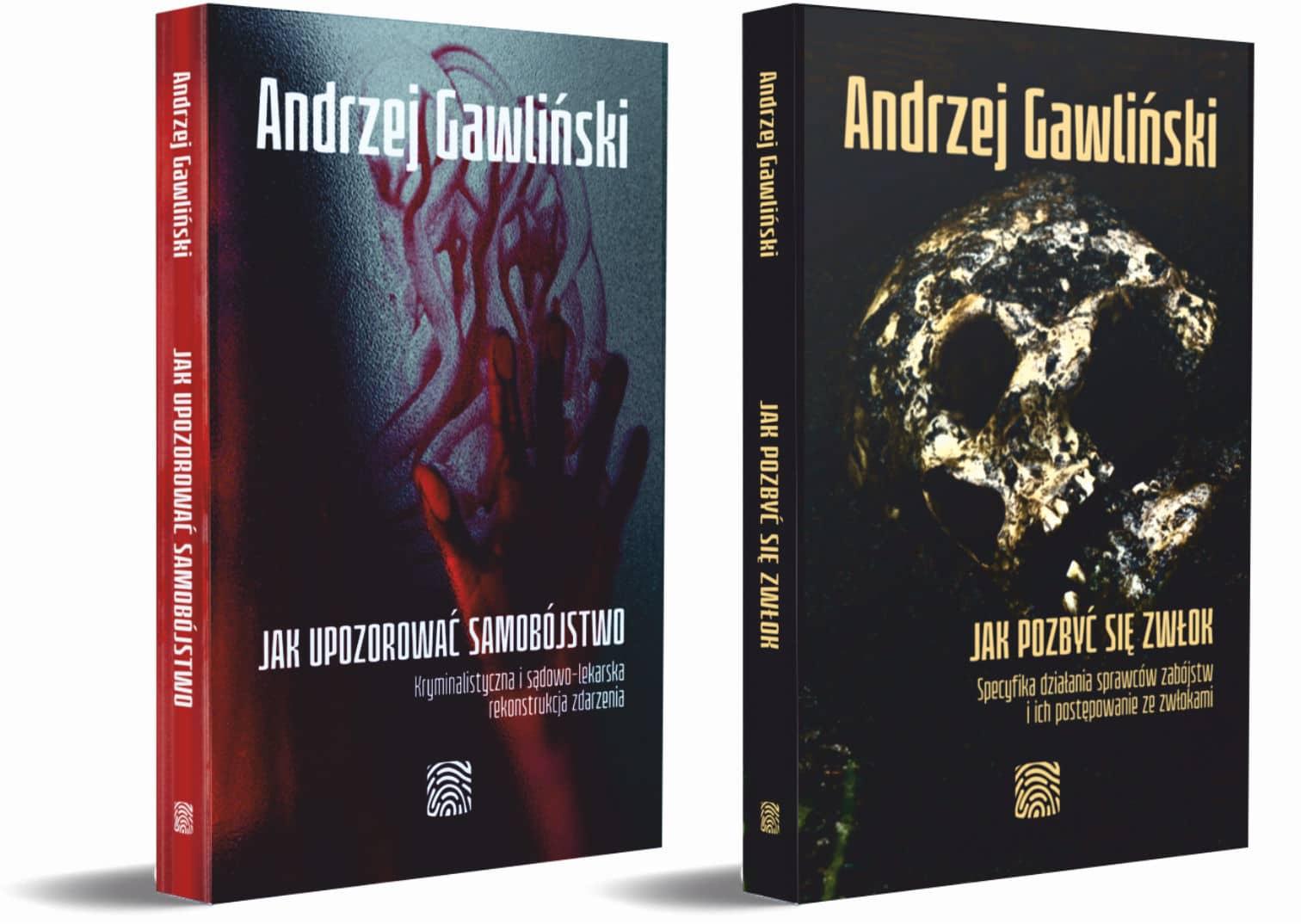 2 książki - Jak upozorować samobójstwo i Jak pozbyć się zwłok