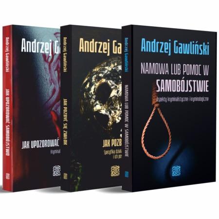 Pakiet - 3 książki: Jak upozorować samobójstwo, Jak pozbyć się zwłok i Namowa lub pomoc w samobójstwie