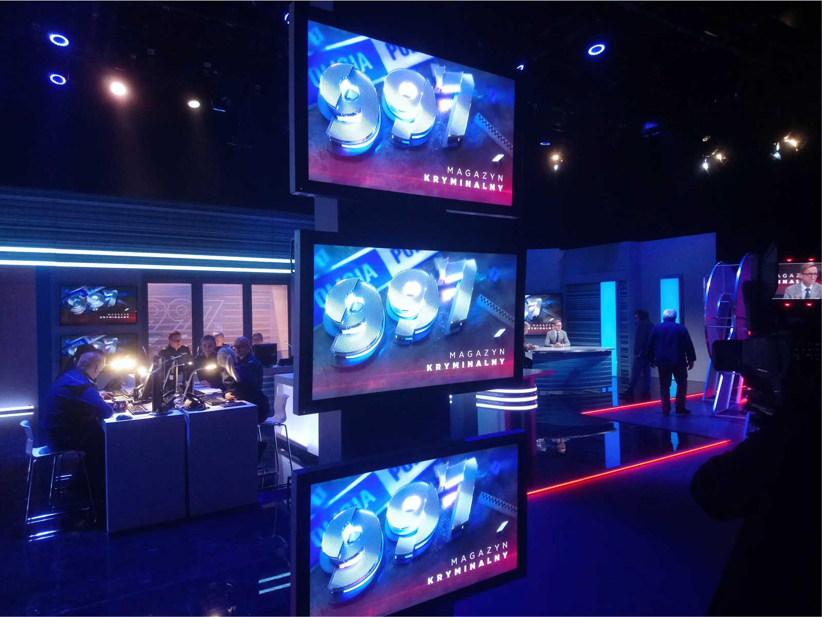Magazyn Kryminalny 997 - studio