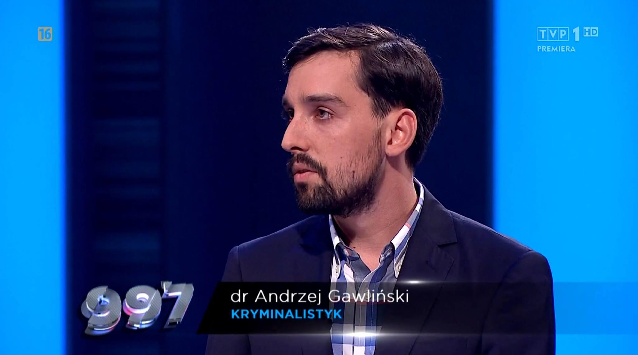 dr Andrzej Gawliński - kryminalistyk