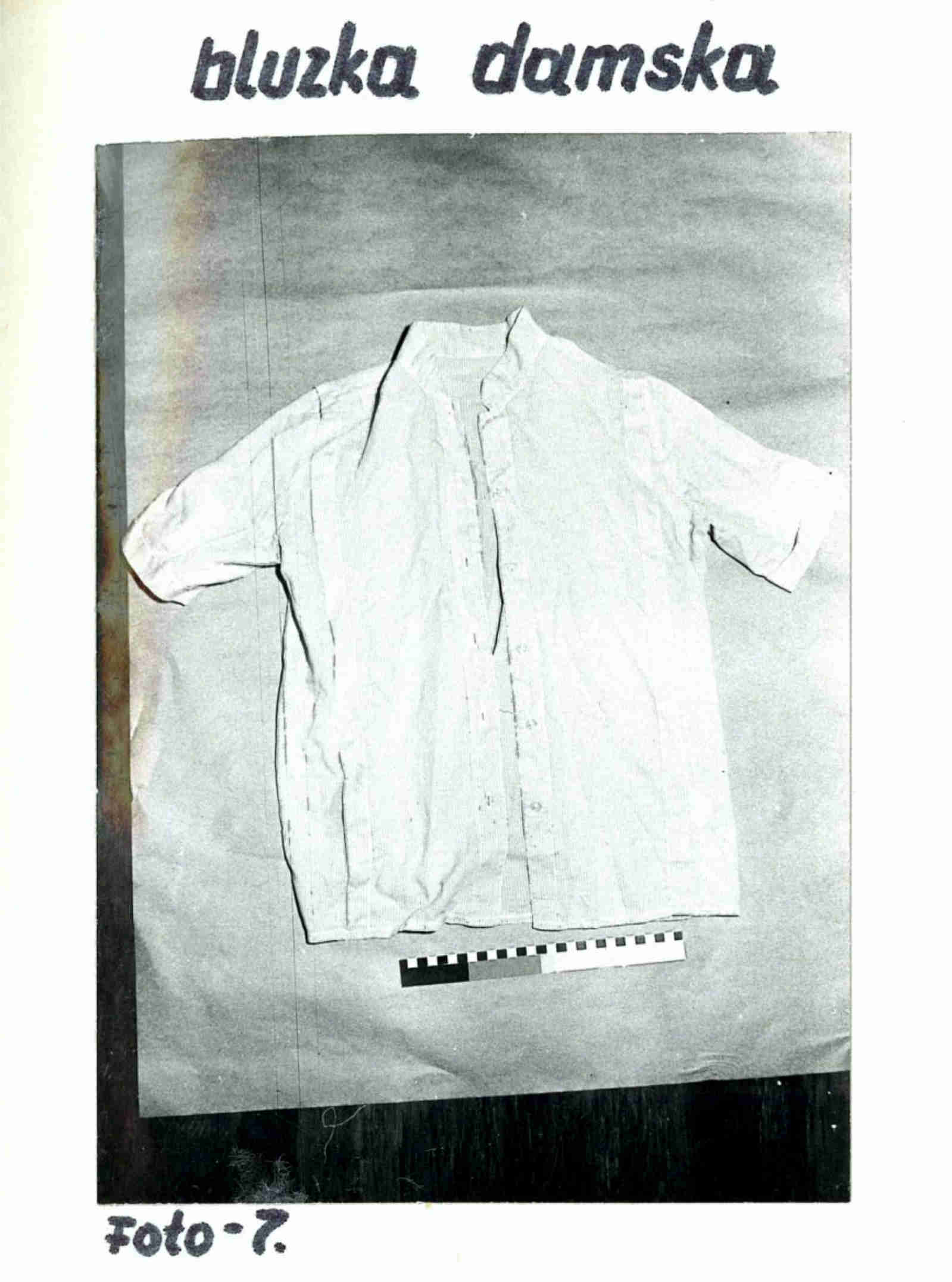 Bluzka damska - fot. Prokuratura Okręgowa w Zielonej Górze