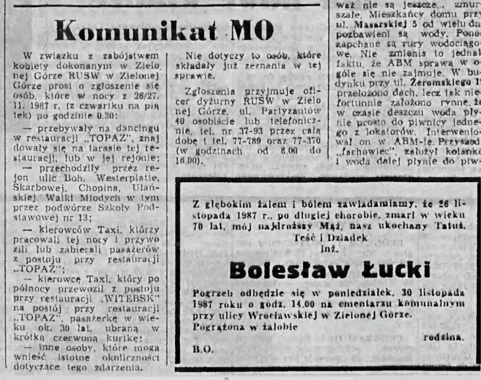 Gazeta Lubuska 30.11.1987