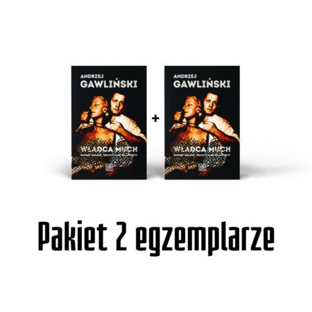 Władca much - Bogdan Arnold - książka - Andrzej Gawliński - okładka -front - Pakiet 2 egz.