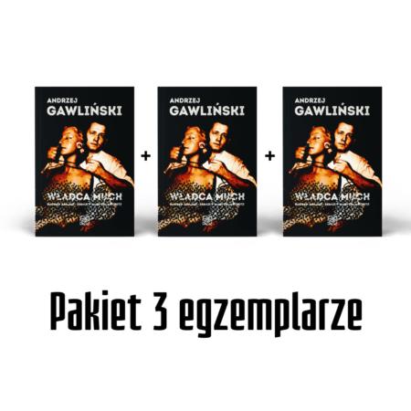 Władca much - Bogdan Arnold - książka - Andrzej Gawliński - okładka -front - Pakiet 3 egz.