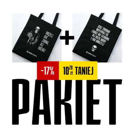 Pakiet 2 dowolne czarne Torby z Denatem - 17% taniej