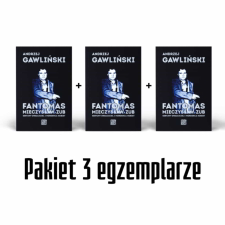 Fantomas Mieczysław Zub - książka Andrzej Gawliński - okładka