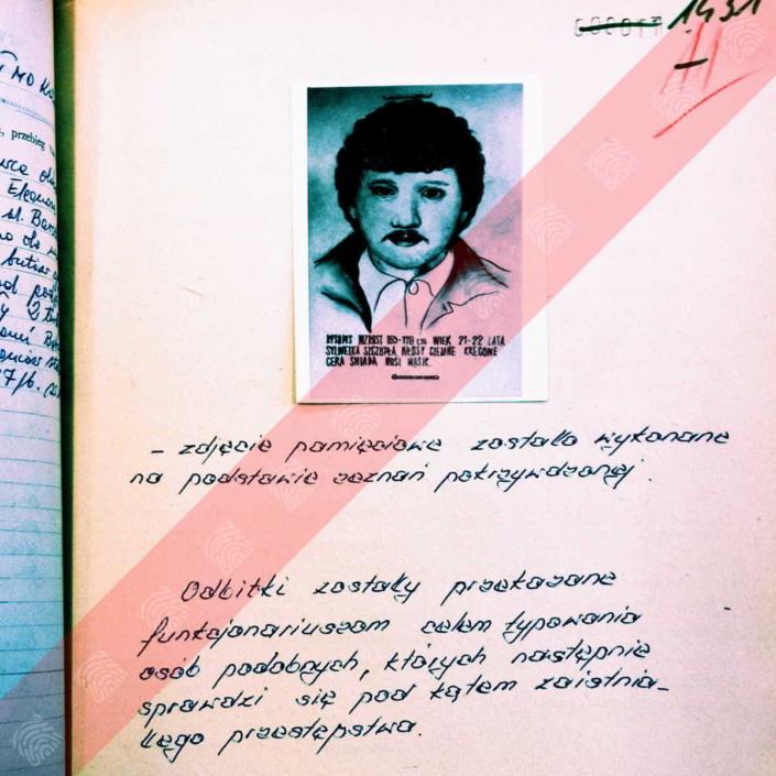 Mieczysław Zub - Fantomas - portret pamięciowy